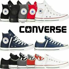 Converse Shoes Chuck Taylor All Star Mens Womens Leather Low High Top Sneaker UK