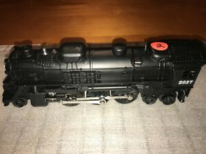VINTAGE LIONEL#2037 STEAM LOCOMOTIVE 027  2-6-4   Red  2