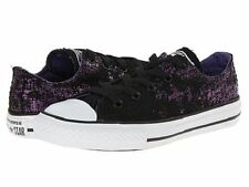 Converse Kids Chuck Taylor All Star Ox Junior 13 Sneakers Flats Purple Hollyhock