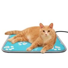 110V Electric Heated pet Bed For Cats Dogs Waming Waterproof Safety Adjustable
