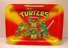 1988 Teenage Mutant Ninja Turtles Metal TV Tray/Lap Desk