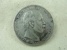 Germany PRUSSIA 1874-A SILVER 5 MARK Genuine Silver coin