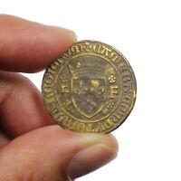 Jeton de la Chambre des Comptes du Roi François Ier 1515 1547 RARE Token France
