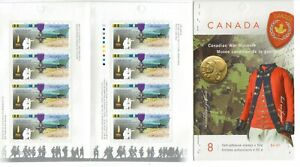 2005 Canada SC# BK 311-Canadian War Museum-booklet of 8-M-NH