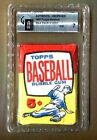 1957 TOPPS BASEBALL UNOPENED (5-CENT) WAX PACK GAI-7-(NM)TEAR FREE,100%-AUTHNTIC