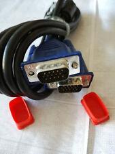 VGA - AnschlussKabel MonitorKabel kabel für Monitor / Display   #04