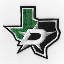 NHL Dallas Stars Map Iron on Patches Embroidered Patch Applique Badge Emblem Sew