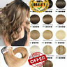 AU Russian THICK Tape In Remy 100% Real Human Hair Extensions Full Head BlondeD