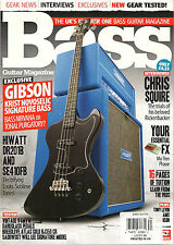 BASS Guitar Magazine UK 74 January 2012 Chris Squire Tony Levin TUITION Play Jac