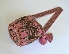 AUTHENTIC MOCHILA WAYUU / XLARGE SIZE / FINEST QUALITY / HANDMADE CROSS BODY BAG