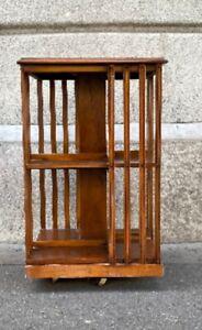 Antikes Drehbares Bücherregal, book case