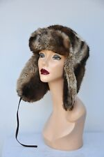 Paul Smith Hat Trapper Hat - Faux Fur Hat Hunter Chapka Unisex Hat Men Women Hat