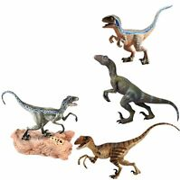 Blue Velociraptor Raptor Dinosaur Figure Animal Model Toy Collector Kids Gift