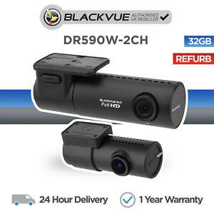 Blackvue DR590W-2CH 32GB Front and Rear Dash Cam Full HD Wi-Fi - Refurbished