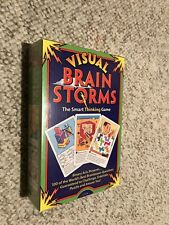 Visual Brain Storms: The Smart Thinking Game - New, Sealed