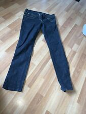 River Island Sleek & Slim Dark Straight Leg Jeans Size 10