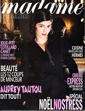 Mag 2010: AUDREY TAUTOU_LUDIVINE SAGNIER_ELODIE FREGE_DOMINIQUE BLANC
