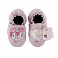 NIB ROBEEZ Shoes Peek A Roo Carriage Lavender 18-24m 6.5 7 8