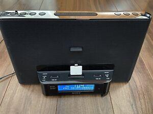 Sony XDR-DS16iP Dream Machine DAB Radio IPod Dock System Alarm Clock Lightning