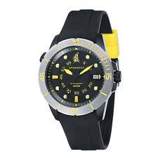 Spinnaker Men Helium SP-5005-017 46mm Black Dial Silicone Watch