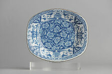 Antique 19c Arita Japan Dish Japanese Porcelain Rare Perfect Condition Straits