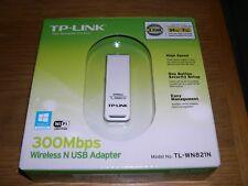 NEW TP-Link 300Mbp TL-WN821N Wireless N USB WiFi Adapter MIMO Brand Retail BOX