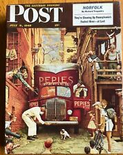 SPRINGBOK JIGSAW PUZZLE 500 PIECES NORMAN ROCKWELL'S TRAFFIC CONDITIONS USED