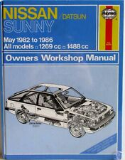 Haynes - Nissan / Datsun Sunny May 1982 - 1986 All Models Owners Workshop Manual