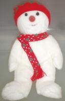 Ty Buddy Snow boy Schneemann Plüsch 1999 Christmas Winter unbespielt