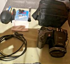 Fujifilm FinePix S Series S602 Zoom Digital Bridge Camera,Bag and Cleaning Kit