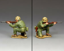 King and Country Marine Kneeling firing Carbine USMC024