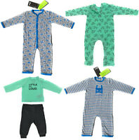 4er Set Baby Langarm Body Strampler Bio Baumwolle Pyjama Junge Auto Dino 62 - 68