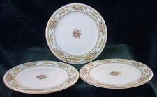 "Three - ROYAL DOULTON - ALTON - SALAD - PLATES - 8"" Diameter"