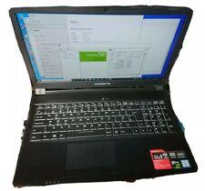 Gigabyte Sabre 15KV8 Laptop i7-8750H@2.20Ghz 500Gb SSD 16Gb Ram WIN10 Pro