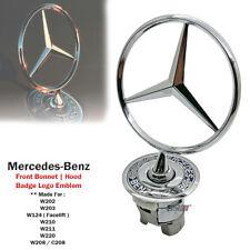 Bonnet Hood Spring Logo Emblem For Mercedes Benz W124 W202 W203 W208 W210 W220