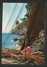 AD7213 Liguria caratteristica - Reti al sole - Pescatore
