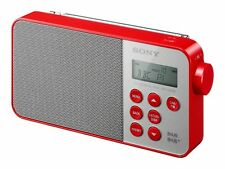 Sony XDR-S40 DAB+/DAB/FM Digital Radio - Red