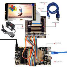 "8051 Microcontroller Development Board USB Programmer for 4.3""TFT LCD Display"