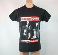 Vtg 1989 Queenryche Operation Mindcrime Tour T-shirt L Deadstock New Rock