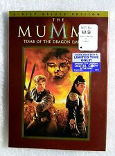 BRAND NEW Mummy Tomb Dragon Emperor WS 2008 DVD Jet Li Brendan Fraser deLuxe Ed