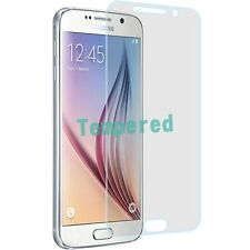 Real Tempered Clear Glass Screen Protector For Samsung S6 G920 S906C
