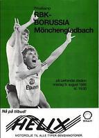 09.08.1989 Rosenborg BK - Borussia Mönchengladbach