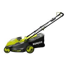 Sun Joe 40-Volt Cordless Brushless Lawn Mower   16-Inch   4.0-Ah Battery