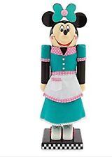 "Minnie Mouse Flo's V-8 Cafe Waitress Nutcracker 14"""