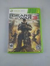 Gears of War 3 (Microsoft Xbox 360, 2011) with Sticker Pack