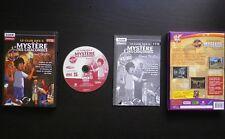 LE CLUB DES 5 et LE MYSTERE DES CATACOMBES : COFFRET JEU PC CD-ROM (Mindscape)