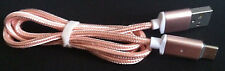 1M Pink Magnetic Type-C USB Fast Charging Cable for Galaxy S8 Plus LG G5 Pixel
