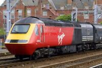 PHOTO  CLASS 43 HST 43156 AT CREWE ON 29/06/01