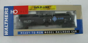 Walthers HO Scale Gold Line ADM UTLX 23,000 Gal. Funnel Flow Tank Car 932-7266 N