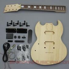 Bargain Musician - GK-017L - LEFT Hand DIY Unfinished Project Luthier Guitar Kit